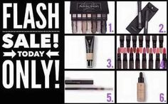 Younique presenters how about offering a flash sale in your group. This one is based on the Cloud 9 collection. Discount each item so that they add up to cost of a Cloud 9 collection.
