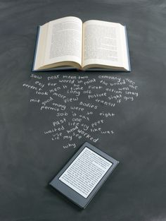 Book and Digital Tablet