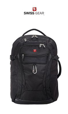 Are you after a new SWISSGEAR backpack? With a huge selection of the best SWISSGEAR backpacks, you'll be sure to find what you're looking for here! Laptop Backpack, Travel Backpack, Black Backpack, Fashion Backpack, Best Travel Bags, Packing Tips For Travel, Travel Items, Messenger Bag Men, Hiking Gear