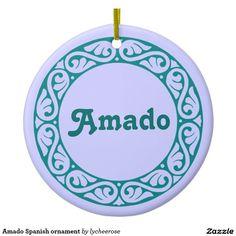 Amado Spanish ornament