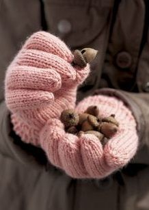 Pink Chocolate, Pink Brown, Gloves, Beanie, Knitting, Crochet, Fall, Dynamic Duos, Cabana