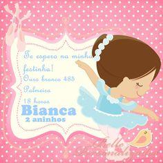 Convite Personalizado Bailarina