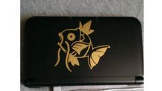 Magikarp 3DS Is The Most Glorious 3DS: check out the sweet Pokemon decal on cheezus_christ_'s 3DS.