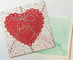 Made with Stampin' Up!'s 'Sent with Love' kit.