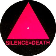 silence Death Turntable DJ Slipmats Black Pink