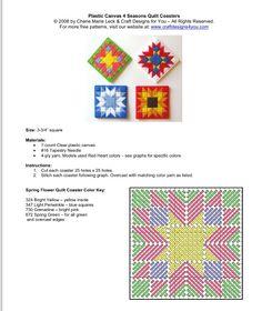 4 Seasons Coasters 1-2