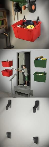 Bin Hanger for Storage Bins and Storage Tubs
