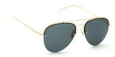 Buy Now I-Gog Sunglasses Unisex Golden Black Large Aviator IG-2070-GL-BL Online : India , Uk