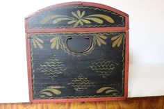 Dome-Top Trunk | Olde Hope Antiques American Decor, American Country, Early American, Decorated Boxes, 65th Birthday, Country Paintings, Antique Paint, Painted Boxes, Historical Society
