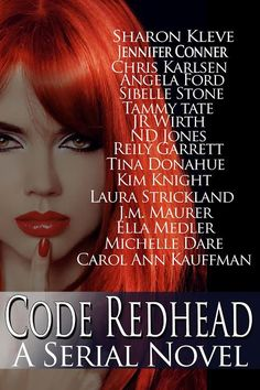 Code Redhead (A Serial Novel) by 13 of your Favourite Authors . I Love Books, New Books, Audio Drama, Carol Ann, Romance Authors, Fiction Novels, Historical Fiction, Book Lovers