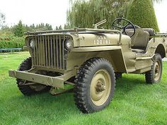 Willys 1942 Willys Slat Grill MB Jeep 1942 Jeep Willys MB Military Slat Grill    Gpw m38 A1 Ford Kaiser - http://www.legendaryfind.com/carsforsale/willys-1942-willys-slat-grill-mb-jeep-1942-jeep-willys-mb-military-slat-grill-gpw-m38-a1-ford-kaiser/