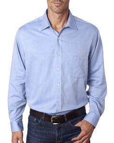 ae1a1d331 Edwards Garment 1978 - Men's No-Iron Stay Collar Dress Shirt in 2019 | Men's  Woven Shirts | Pinterest | Non iron dress shirts, Fitted dress shirts and  ...