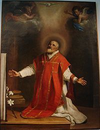 St.Philip Neri (Apostle of Rome). Patron Saint of Rome and the U.S. Special Forces. His feast day is May 26th