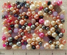 1/4 Lb Pound Glass Pearls Czech Fire Polished Faceted Assorted Boho Mix Beads #PreciosaJablonex #GlassPearlsCzechFirePolishedBeadsBohemian