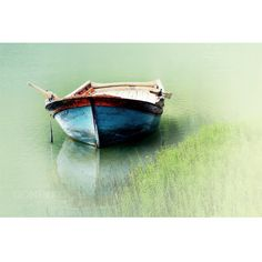 Nature photography boat photography lake photography  by gonulk, $50.00