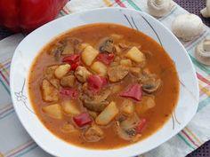 Monia miesza i gotuje: Zupa gulaszowa