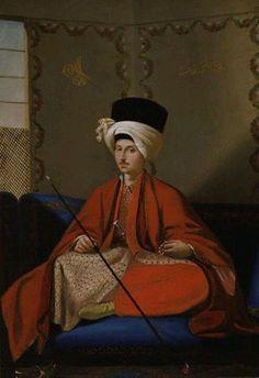 An Ottoman man.  Ca. 18th century.