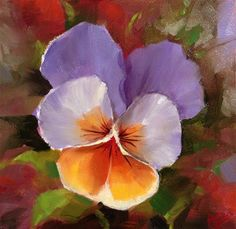 """Daily Paintworks - """"Gentle Bloom"""" by Krista Eaton"""
