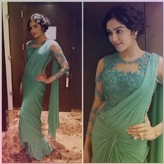 Looking for blouse designs photos? Here are our picks of 30 trending saree blouse models that will blow your mind. Blouse Back Neck Designs, Netted Blouse Designs, Fancy Blouse Designs, Bridal Blouse Designs, Saree Blouse Designs, Saree Blouse Models, Net Saree Blouse, Corset Blouse, Saree Gown