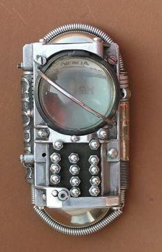 Les téléphones Steampunk