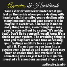 How to hurt an aquarius man