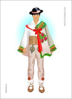 Ethnic Outfits, Ethnic Clothes, Poland, Comic Art, Harajuku, Costumes, Traditional, Inspiration, Dolls