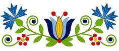 Kaszubian Small Design in Żukowska style with Tulipan, for machine embroidery, used to spruce up a towel Commercial Embroidery Machine, Machine Embroidery Designs, Folk Art Flowers, Flower Art, Summer Chalkboard Art, Polish Folk Art, Beadwork Designs, Scandinavian Folk Art, Stained Glass Flowers