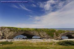 Arches Provincial Park, Newfoundland, Canada