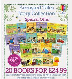 Carti pentru copii in limba engleza: Povesti de la ferma....