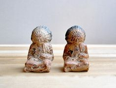 Pair American Indian Bookends by LittleDogVintage on Etsy, $38.00