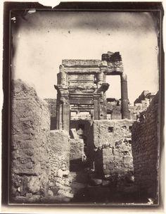 Gate, Temple of Bel, Louis Vignes, 1864