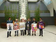 Presentación de carteles finalistas de Aste Nagusia 2012 - 2012ko Aste Nagusiko kartel finalisten aurkezpena