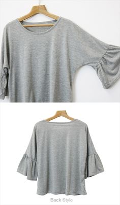 Image result for dolman bell ruffle sleeve