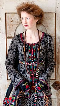Swedish Women's Clothing, Accessories & Housewares - Gudrun Sjödén US Ethno Style, Gypsy Style, Bohemian Style, Boho Chic, Folk Style, Boho Gypsy, Folk Fashion, Fashion Mode, Ethnic Fashion