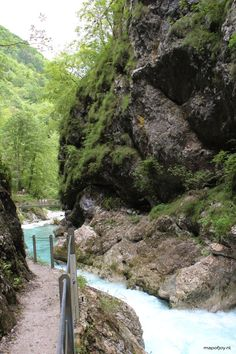 Hike through the Tolmin Gorge in Slovenia - travel report by Map of Joy, travel, europe, park, world