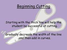 """Using Scissors for Beginners ("""",)"""