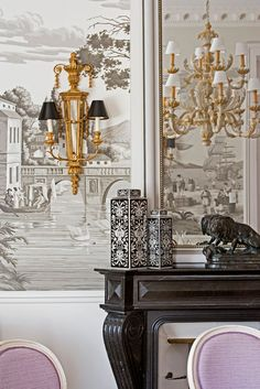 de Gournay: Our Collections - Wallpapers Fabrics Collection - Papiers Peints Panoramiques Collection |
