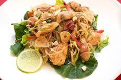 Thai - Glasnudelsalat - Yam Woon Sen