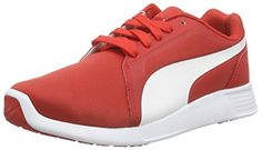 Puma ST Trainer Evo, Unisex-Erwachsene Sneakers, Rot (high risk red-white 04), 45 EU (10.5 Erwachsene UK) - http://on-line-kaufen.de/puma/45-eu-puma-unisex-erwachsene-st-trainer-evo-8