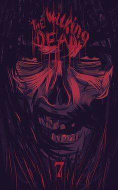The Walking Dead by Rafal Rola