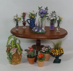 miniature artisans photo: Miniature Flowers and Plants plants2-2.jpg
