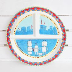 Baby Cie Love of Family Plate