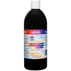 Akciós ! Ft Ár Nebuló tempera nagy kiszerelésben 500 ml - Fekete Ft Ár 690 Tempera, Wine, Drinks, Bottle, Drinking, Beverages, Flask, Drink, Jars