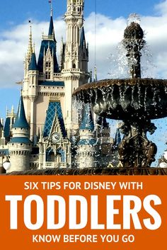 Six Tips for Traveling to Walt Disney World with Toddlers | Family Travel | Travel Tips | Disney with Kids
