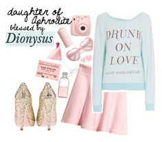 """""""daughter of aphrodite blessed by dionysus"""" by waveringweaver ❤ liked on Polyvore featuring H&M, Lord & Berry, Wildfox and Miu Miu Dionysus, Aphrodite, Percy Jackson, Wildfox, Margarita, Miu Miu, Berry, Blessed, Lord"""
