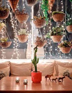 Bohemian Homes: Amethyst table