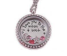 Personalized Love Locket Necklace  Hand Stamped by Stampressions