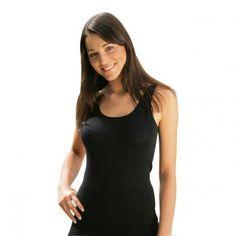 Engel: dame undertrøje uld og silke sort