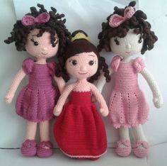 Amigurumi kızlar
