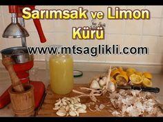 Limon ve Sarımsak Kürü Nasıl Hazırlanır? - Sağlıklı Tarifler 01 - YouTube